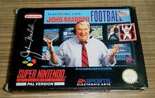 Mint New NOS Super Nintendo SNES Game - John Madden Football 93 (b)
