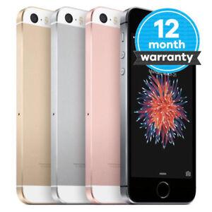 Apple iPhone SE 16GB/32GB Factory Unlocked Smartphone iOS Grey Pink Gold Silver