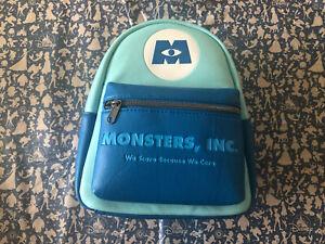 NWT Disney Blue Monsters Inc - Loungefly Mini Backpack