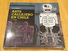 Chilean Street Art Graffiti Book, Arte Callejero en Chile, Rod Palmer, Still Sea