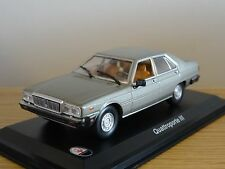 LEO MASERATI QUATTROPORTE III GREY 1983 CAR MODEL HD44 1:43