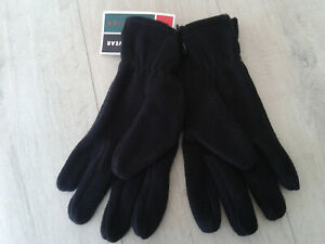 Damen Herren Fleece Handschuhe Winter Handschuhe Gr. M