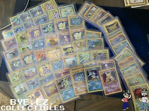 1st Edition ~ Old Pokemon Cards Lot ~ 100% Vintage ONLY WOTC!