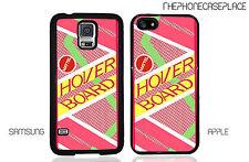 Back to The Future Hoverboard Delorean DMC Quote Phone Case Cover!