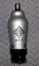 Ac2 TELEFUNKEN TUBO attualmente esaminato e 100% in ordine, raramente, ben conservati