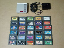 Nintendo Gameboy Advance Boys / Girls Bundle 30 Games Classic NES Limited Ed