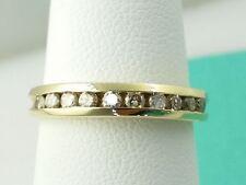 14k Yellow Gold Diamond Wedding Bands Ring 0.25Carrat