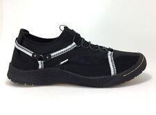 New JSport by Jambu Tahoe Encore size 7 Black Bungee Lace Vegan Sport Shoes