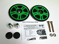 "Team Arctic Cat Green Rear Idler Wheel Kit 7.12"" 2012-2017 129"" Tracks 6639-618"