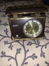 Vintage Linden Portable Travel Alarm Clock