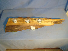 # 6092 wooden rustic spalted curly maple candle holder made in the USA