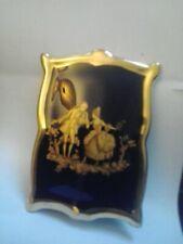 vintage limoges ceramic frame style ornament