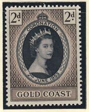 GOLD COAST - 1953 - QEII CORONATION SG 165 / Scott 160 - U/M**