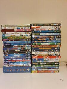 Job lot of 40+ Kids DVDs. Disney, Pixar, Dreamworks. Cars boxset brand new.