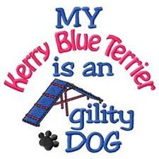 My Kerry Blue Terrier is An Agility Dog Fleece Jacket - Dc1954L Size S - Xxl