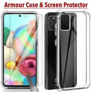 For Samsung Galaxy A10 A10s A20e A40 A50 A51 A70 A71 A90 Case & Screen Protector
