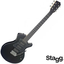 NEW Stagg SILVERAY SERIES NASH Custom ALL BLACK Electric Guitar SVY-NASH-BK