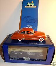 VOITURE TINTIN AU PAYS DE L'OR NOIR BUICK ROADMASTER USA US 1949 1/43 IN BOX N°4