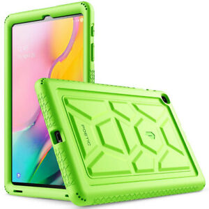 Samsung Galaxy Tab A 10.1 (SM-T510/T515) Tablet Case,Poetic Silicone Cover Green