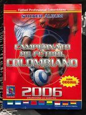 Campeonato de Futbol Colombiano 2006 - Figuras Color INCOMPLETE