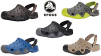 Men's Crocs Swiftwater Clog Mule Sandal Adjustable Heel Strap Water Shoe 7-13