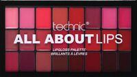 Technic Lip-gloss Palette Lip Kit Makeup Set X'mas Gift set