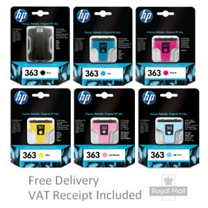 Original 363 Ink Cartridges (2019) C8721EE C8771EE C8772EE C8773EE C8774EE