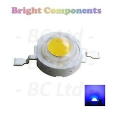 10 x 1W Blue Power LED - Ultra Bright - 10 Pack - 1st CLASS POST