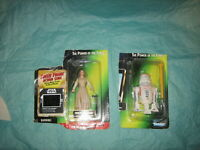 Kenner The Power of the Force Star Wars Princess Leia Organa / R5-D4 *Lot of 2*