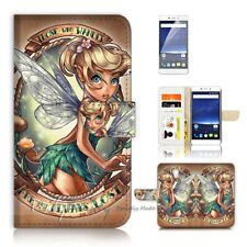( For Optus X Smart ) Wallet Case Cover P21066 TinkerBell