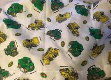 John Deere Johnny  Tractor & Friends Luke Loader Twin Flat Bed Sheet
