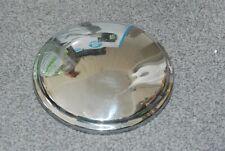 """SINGLE SINGER GAZELLE PLAIN HUB CAP (USED) 10"""" DIAMETER"""