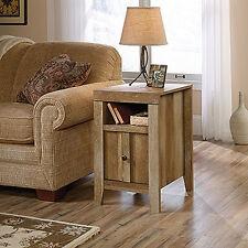 Sauder Dakota Pass Side Table, End Table  in Craftsman Oak Finish