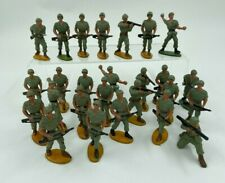 LOT 26 SOLDATS GUILBERT PLASTIQUE PEINT ARMEE MODERNE SOLDAT CASQUE F298