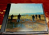 "CD PRO Single BACKSTREET BOYS ""In a World Like This"""