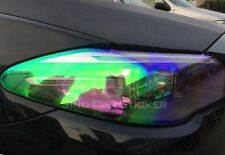 Headlight Tint Film 50cmx30cm Chameleon Waterproof Self Adhesive RAINBOW EFFECT