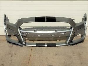 OEM 2019-2021 Ford Mustang Shelby GT500 Front Bumper Cover Fascia Iconic Silver
