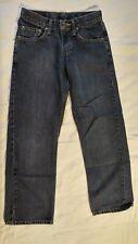 Lee Boys Blue Denim Relaxed Fit Jeans Adjustable Waist Size 14