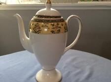 Wedgwood India bone china coffee pot circa 1996 older mark