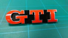 2x GTI Aufkleber für Emblem Golf 5 6 7 Polo Lupo
