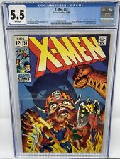 X-Men #51 CGC 5.5 VF+ First Appearance Eric The Red