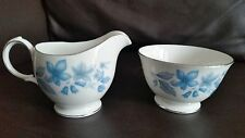 Vintage Dubarry corona Essex inglés Bone China Creamer & Azucarera