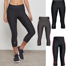 NEW Under Armour Women Heat Gear Armour Capri Yoga Tights NEW