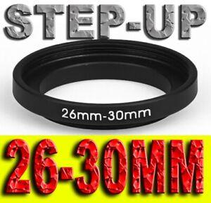 STEP UP 26-30MM ADATTATORE RING ADAPTER 26MM 30MM 26-30 26 30 MM 26MM-30MM