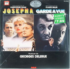 Rare Georges Delerue - Josepha and Garde A Vue - European Pressing - Sealed!!!