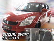 Hatchback 5doors f Wind deflectors for Suzuki Swift Sport 5 FZ//NZ Facelift 2013