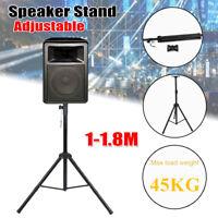 "71"" Adjustable Folding Speaker Stand DJ Band PA Studio Monitor Tripod Mount"