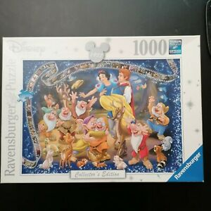 Ravensburger 1000 PIECE JIGSAW PUZZLE  Disney Snow White Collectors Edition 100%