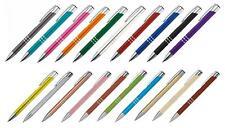 20 Kugelschreiber aus Metall / 20 verschiedene Farben