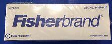 Fisherbrand Glass Test Tube Tubes 10x75mm 250 Pack 14 961 25